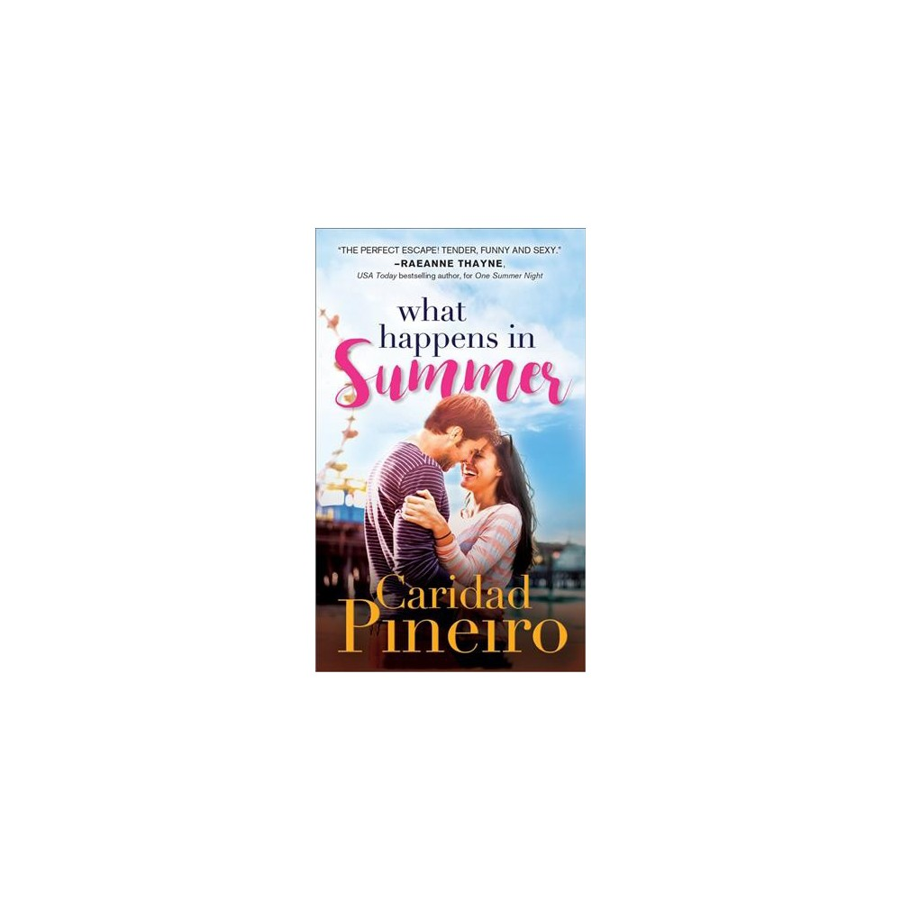 What Happens in Summer - (At the Shore) by Caridad Pineiro (Paperback)
