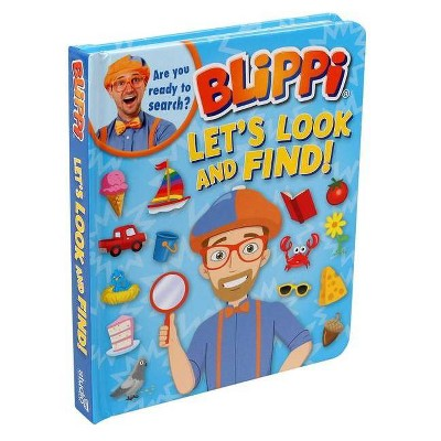 Blippi: Let's Look and Find (Board Book)
