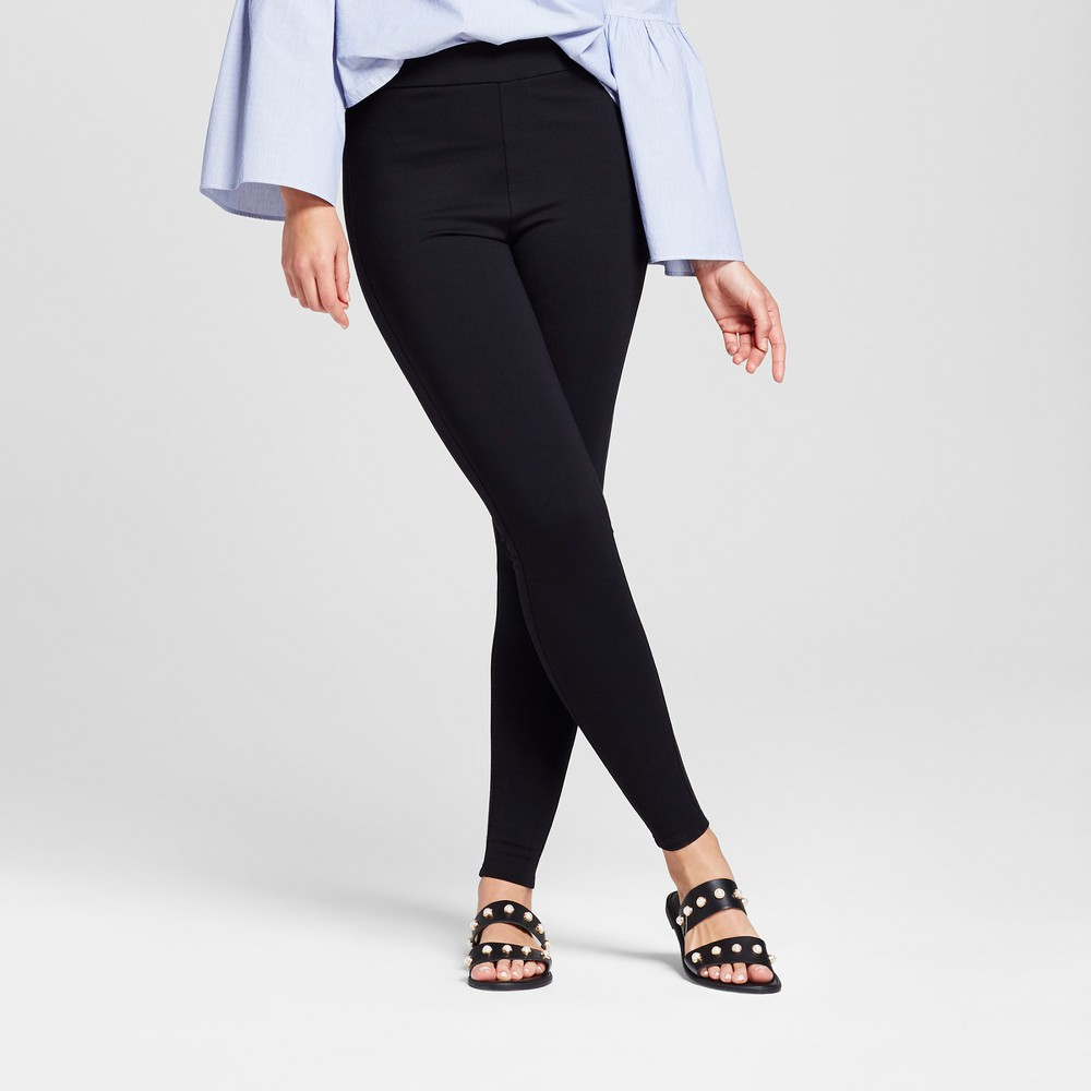 Women's Ponte Pants - A New Day Black M