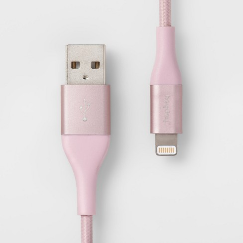 heyday™ 4' Lightning to USB-A Braided Cable - image 1 of 3