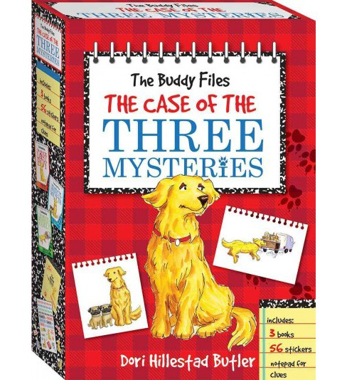 Buddy Files : The Case of the Three Mysteries (Paperback) (Dori Hillestad Butler) - image 1 of 1