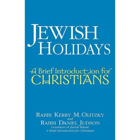Jewish Holidays - by  Kerry M Olitzky & Daniel Judson (Paperback) - image 1 of 1