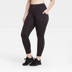 "Women's Sculpted High-Rise 7/8 Leggings 25"" - All in Motion™"