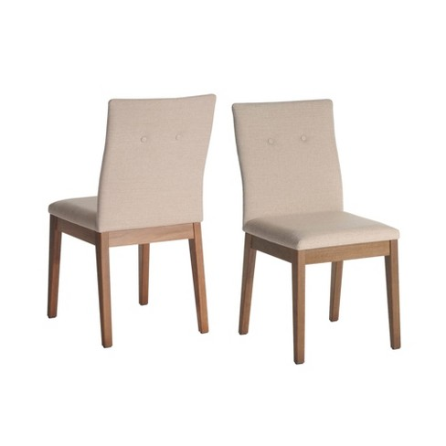 Leroy Dining Chair with Stitched Buttons - Manhattan Comfort - image 1 of 4
