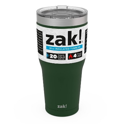 Zak! Designs 30oz Double Wall Stainless Steel Cascadia Tumbler - Green