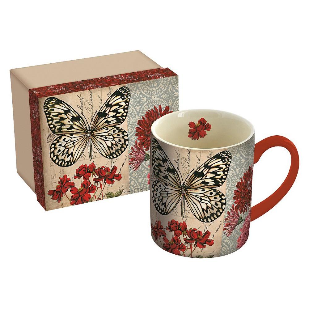 Image of Lang Ceramic Fly Away Mug 14 oz, Multi-Colored
