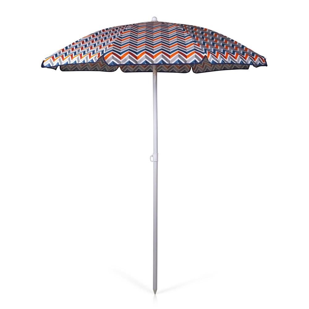 Picnic Time 5 5 39 Beach Umbrella Multi