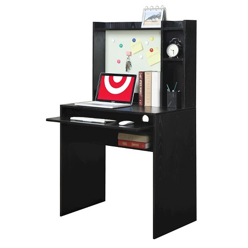 Designs2go Student Desk With Magnetic Bulletin Board Black Convenience Concepts Target