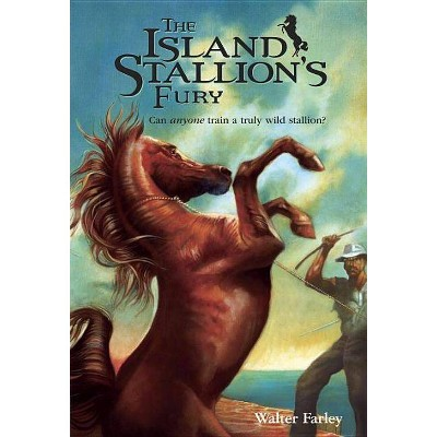 The Island Stallion's Fury - (Black Stallion) by  Walter Farley (Paperback)