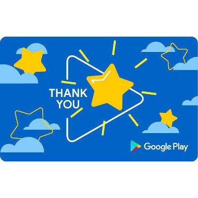 Google Play gift code – Thank You (Email Delivery – US Only)