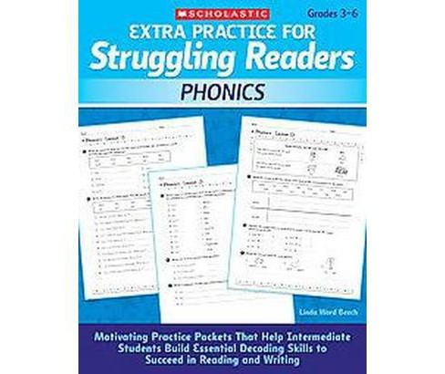 Extra Practice for Struggling Readers: Phonics (Paperback) - image 1 of 1