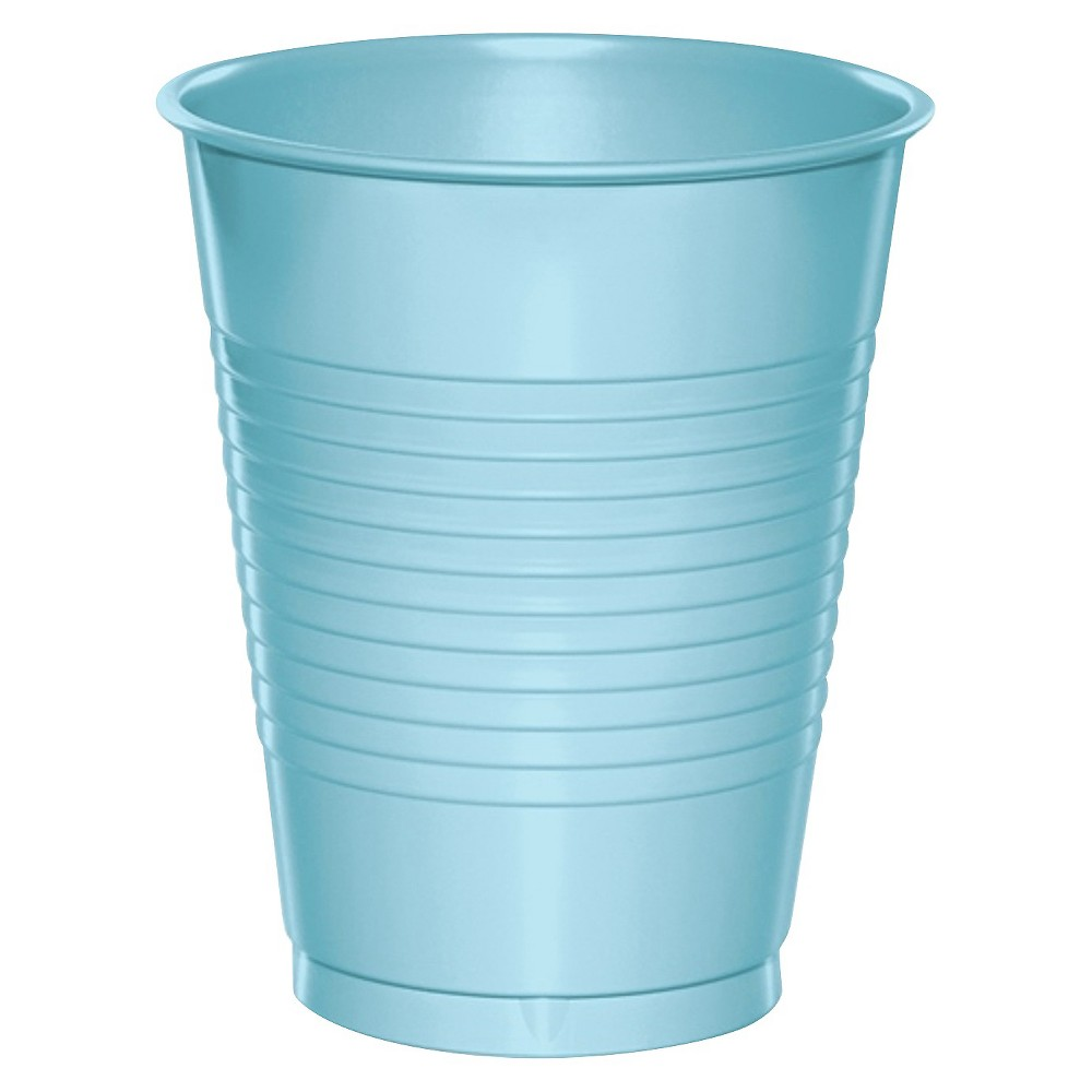 Image of Disposable Cups - Blue, disposable drinkware