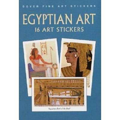 Egyptian Art - (Pocket-Size Sticker Collections) by  Anna Samuel (Paperback)