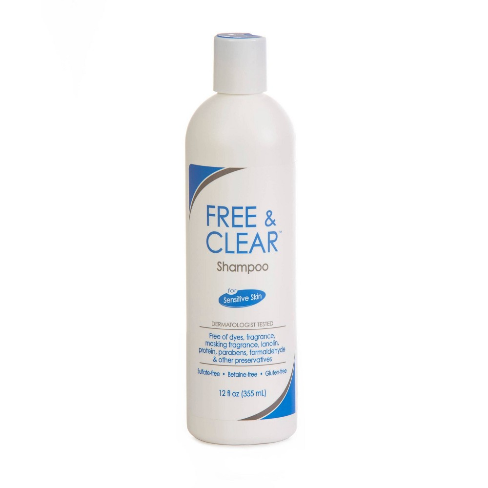 Image of Free & Clear Sensitive Skin Shampoo - 12 fl oz