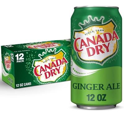 Canada Dry Ginger Ale Soda - 12pk/12 fl oz Cans