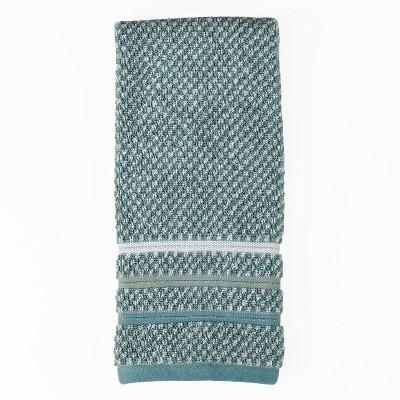 Maui Jacquard Hand Towel Green - Saturday Knight Ltd.