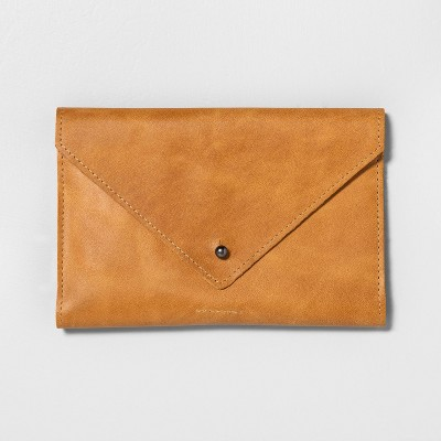 Leather Wallet Cognac - Hearth & Hand™ with Magnolia