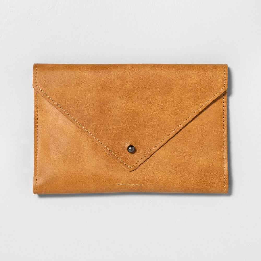 Leather Wallet Cognac - Hearth & Hand with Magnolia, Red was $23.0 now $11.5 (50.0% off)