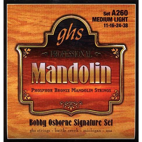GHS Phosphor Bronze Mandolin Strings Medium Light - image 1 of 1