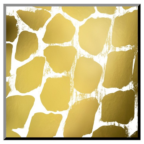 Gold Nairobi Square III (gold foil) Mounted Print - image 1 of 2