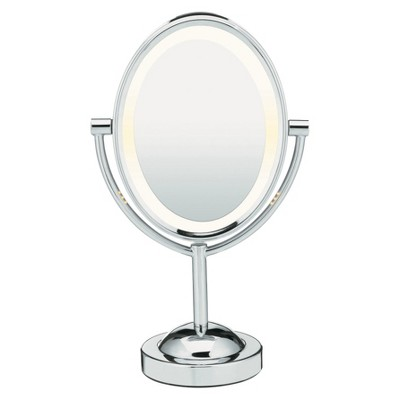 Conair Oval Chrome Double-Sided Mirror
