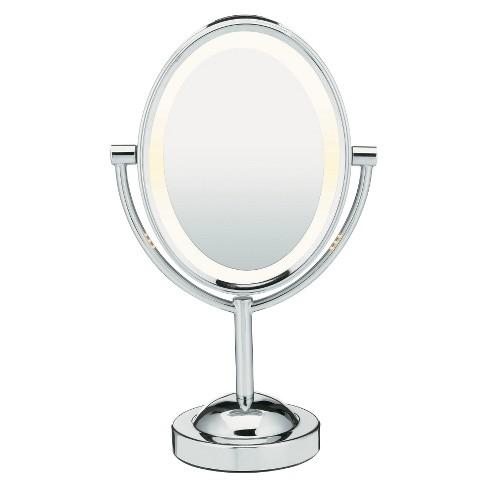 Conair Oval Chrome Double Sided Mirror
