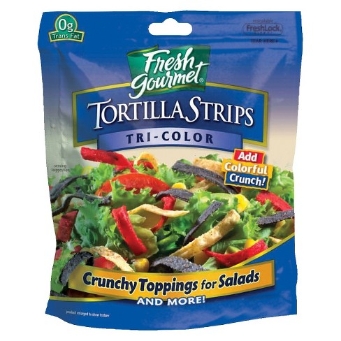 Fresh Gourmet Tri Colored Tortilla Strips 3.5oz - image 1 of 1
