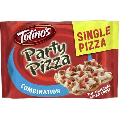 Totino's Combination Party Frozen Pizza - 10.4oz