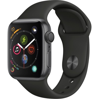 Apple Watch Series 4 GPS 40mm Space Gray Aluminum Case with Sport Band - Black
