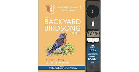 Backyard Birdsong Guide : Western North America: A Guide to Listening (Reissue) (Hardcover) (Donald - image 1 of 1
