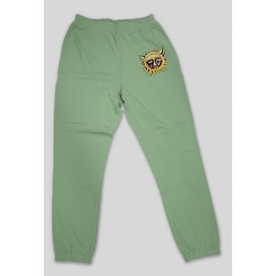 Women's Sublime Logo Graphic Jogger Pants - Green