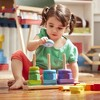 Melissa & Doug Geometric Stacker - Wooden Educational Toy - image 2 of 4