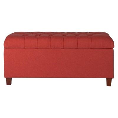 Tufted Storage Bench - HomePop