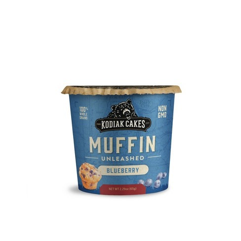 Kodiak Cakes® Minute Muffins Mountain Blueberry Cup - 2.9oz - image 1 of 2
