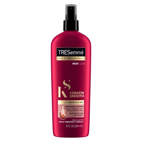 Tresemme Keratin Smooth Flat Iron Smoothing Spray 8 Fl Oz Target