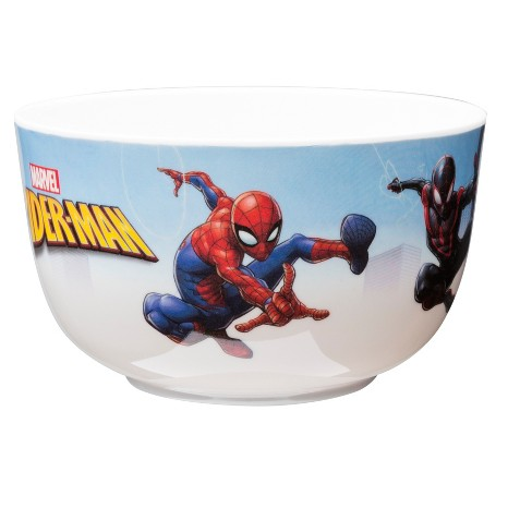 Zak Marvel® Spider-Man Melamine Bowl 6oz Red - image 1 of 2
