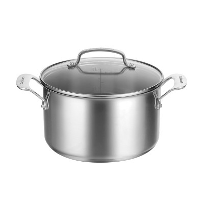 Cuisinart 5qt Stainless Steel Stockpot with Lid