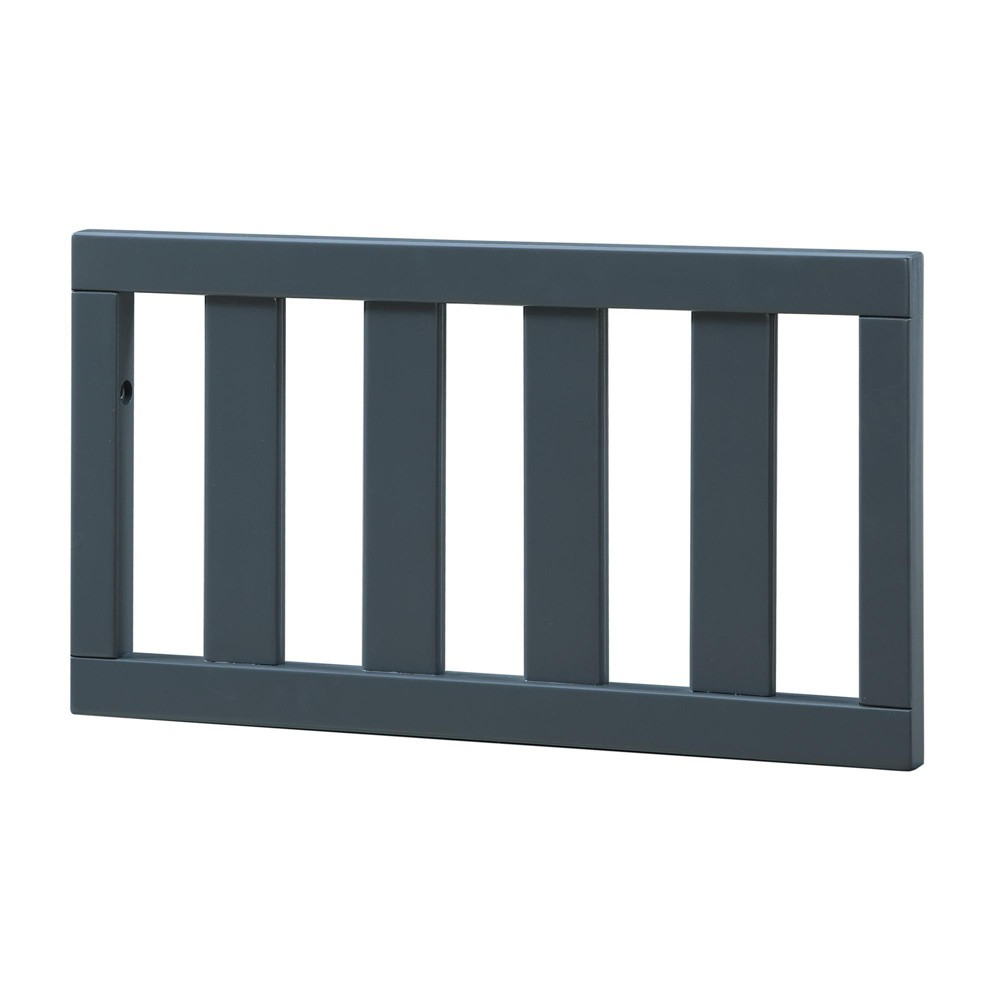 Image of Baby Relax Crib Conversion Rail Graphite Blue, Grey Blue
