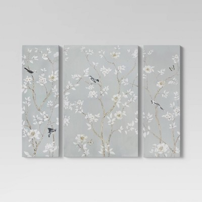 3pk Wall Branches Gray - Threshold™