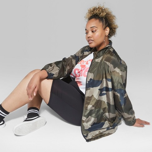 1fd0ed68b94 Women s Plus Size High Waist Bike Shorts - Wild Fable™ Black   Target