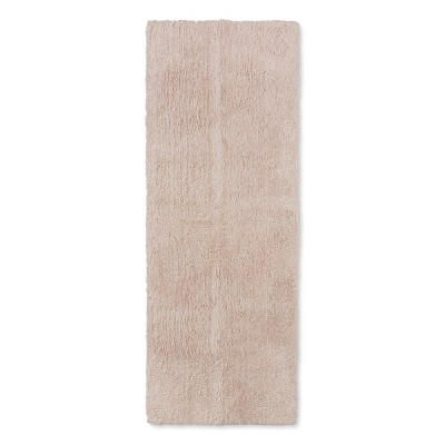 60 x22  Tufted Spa Bath Runner Tan - Fieldcrest®