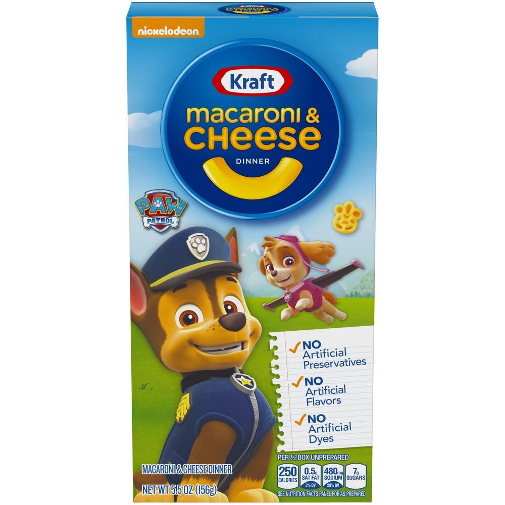 Kraft Paw Patrol Shapes Macaroni & Cheese Dinner 5.5oz