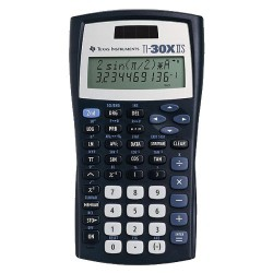 Texas Instruments TI30XIIS Scientific Calculator - Black