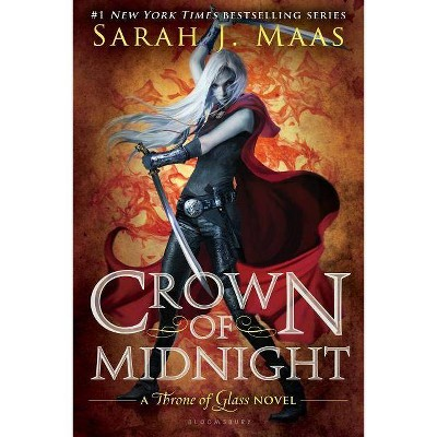 Crown of Midnight - (Throne of Glass) by  Sarah J Maas (Paperback)