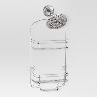 Bathroom Shower Caddy - Chrome - (Medium) - Threshold™