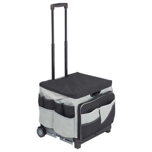 ECR4Kids Universal Rolling Cart and Organizer Bag - Black - Mobile Storage - image 1 of 4