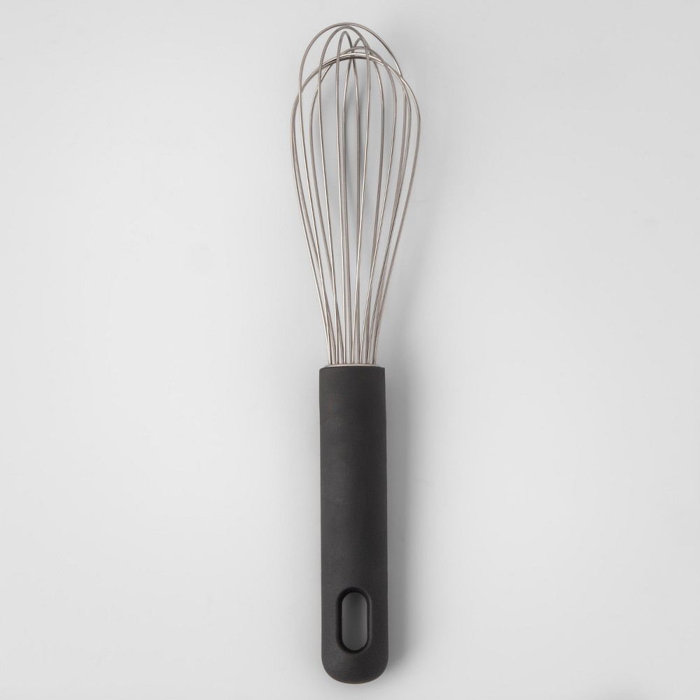 """Image of """"9"""""""" Whisk with Soft Grip Stainless Steel - Made By Design , Gray"""""""