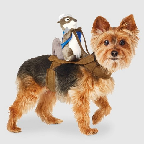 Sheriff Squirrel Rider Halloween Dog and Cat Costume - Hyde & EEK! Boutique™ - image 1 of 3
