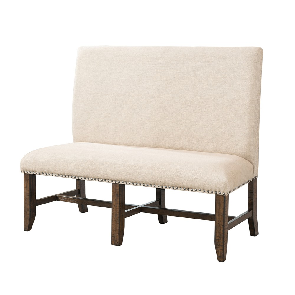 Francis Upholster Bench Cream - Picket House Furnishings