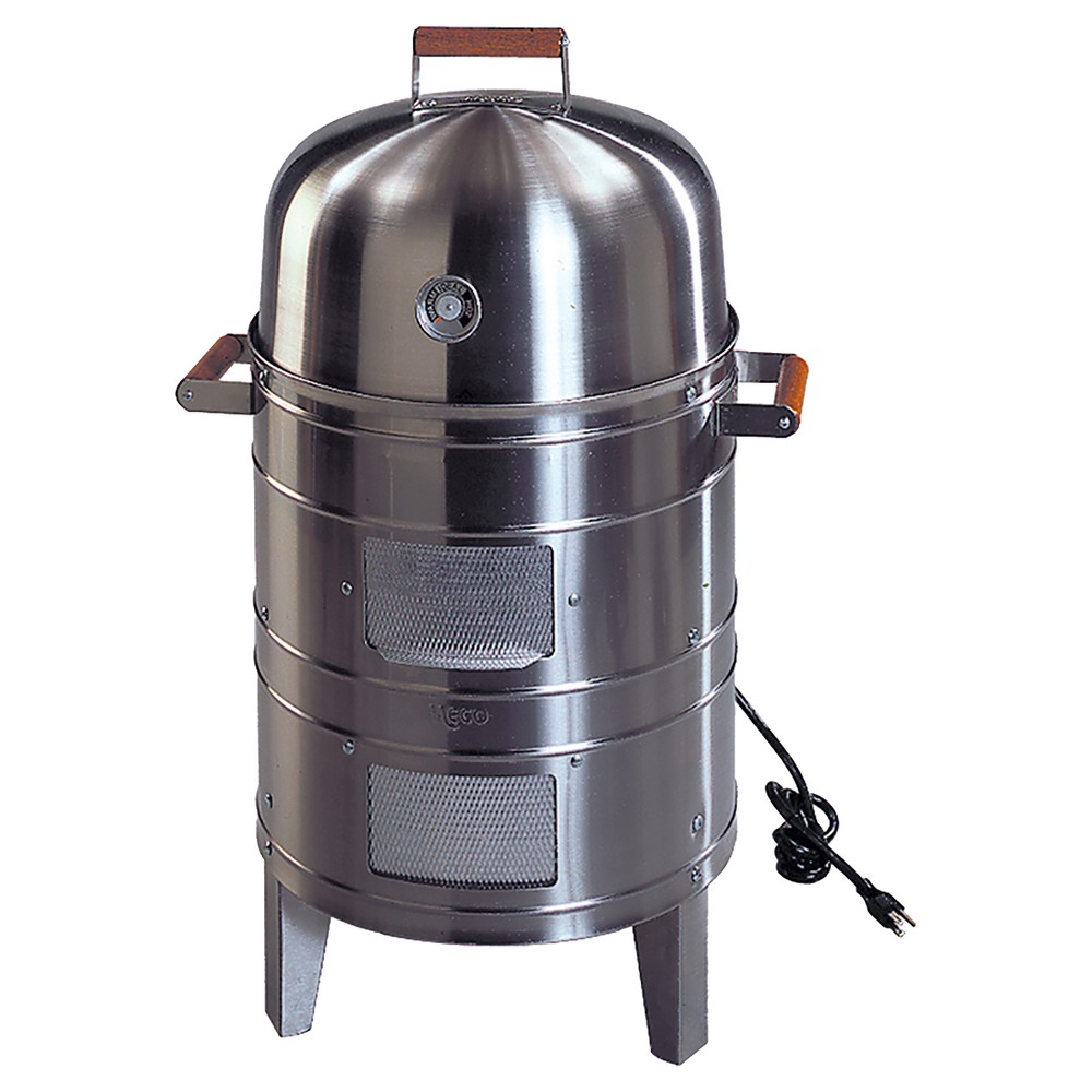 Image of Southern Country Stainless Steel Electric Water Smoker with 2 levels of cooking surface 5029P2.911, Silver